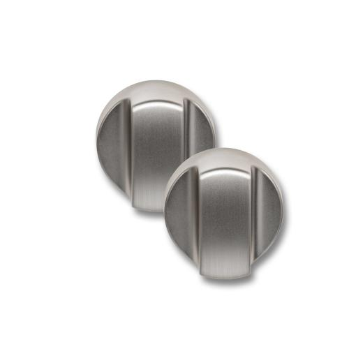 990193251-Countertop Oven Knobs - Brushed Stainless