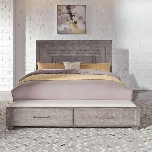 Gallery - Queen Storage Bed