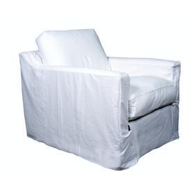 Slipcover Chair, Luxury Depth