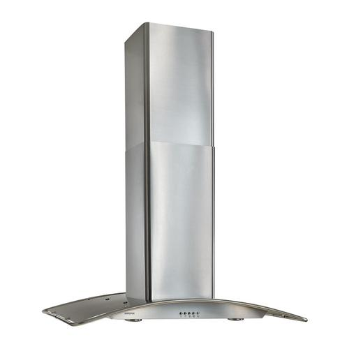 """[LIGHTLY USED] 36"""" Arched Stainless Steel, Island Hood. Clearance stock is sold on a first-come, first-served basis. Please call (717)299-5641 for product condition and availability."""