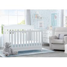 Emery 4-in-1 Crib - White (100)