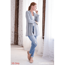 Be-YOU-tiful Back Slit Cardigan - XS (3 pc. ppk.)