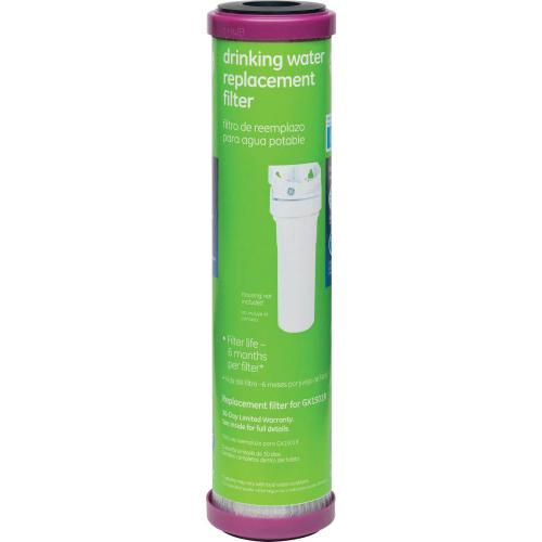 GE® Single Stage Drinking Water Replacement Filter (Chlorine, Taste and Odor)