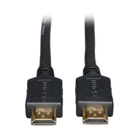 High-Speed HDMI Cable, Digital Video with Audio, UHD 4K (M/M), Black, 12 ft.