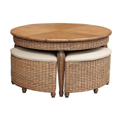 Capris Furniture - 723 Hassock Table