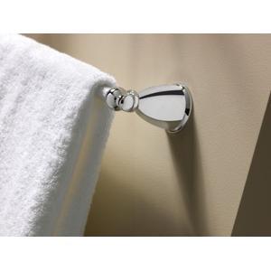"Caldwell brushed nickel 24"" towel bar"