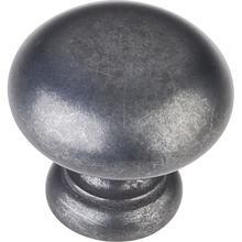 "1-1/4"" Diameter Mushroom Cabinet Knob."