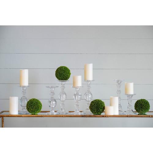 S/2 Boxwood Decorative Spheres