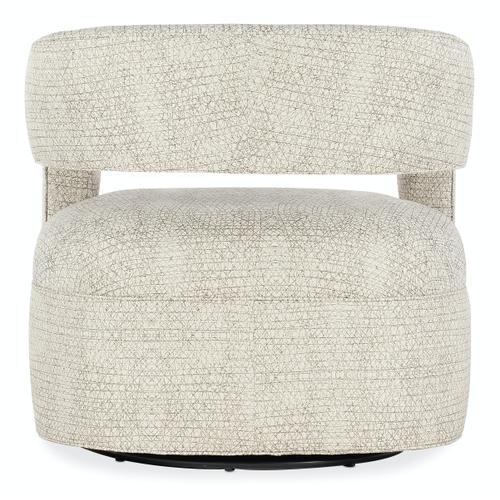 Sam Moore Furniture - Living Room Moani Swivel Chair - Metal Base