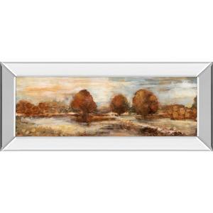 """Morning Meadows Il"" By Tava Studios Mirror Framed Print Wall Art"