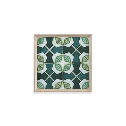 Bassett Mirror Company - Palm Piazza Tile IV