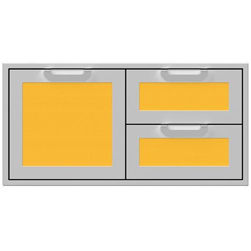 """Hestan - 42"""" Hestan Outdoor Combo Door/Drawer - AGSDR Series - Sol"""