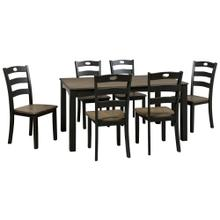 Froshburg Dining Table and Chairs (set of 7)