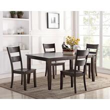 Wirebrush Dark Oak Dining