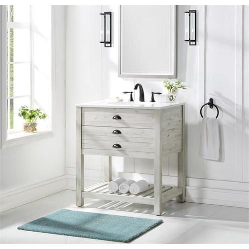 Coast To Coast Imports - 1 Drw Vanity Sink