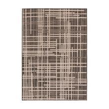 Vito - Minimalist Lines Area Rug, Brown, 8' x 10'