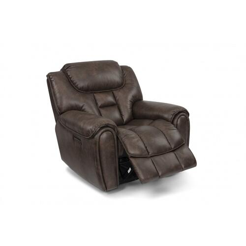 Buster Power Recliner with Power Headrest