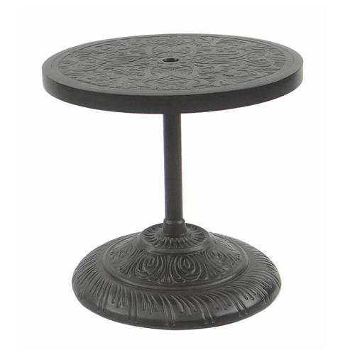 Castelle - Round Cast Top Side Table Umbrella Base (87 Lbs)