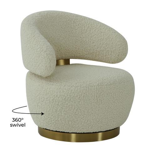 Tov Furniture - Austin Faux Shearling Chair