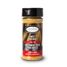 Louisiana Grills Spices & Rubs - 5 oz Sweet Rib Rub