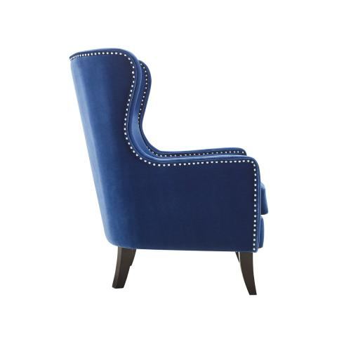 Rosco Wing Back Accent Chair - Sapphire