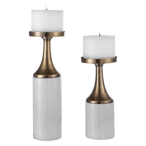 Uttermost - Castiel Candleholders, S/2