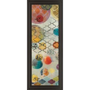 """""""Casa Blanca Panel Il"""" By Jeni Lee Framed Print Wall Art"""