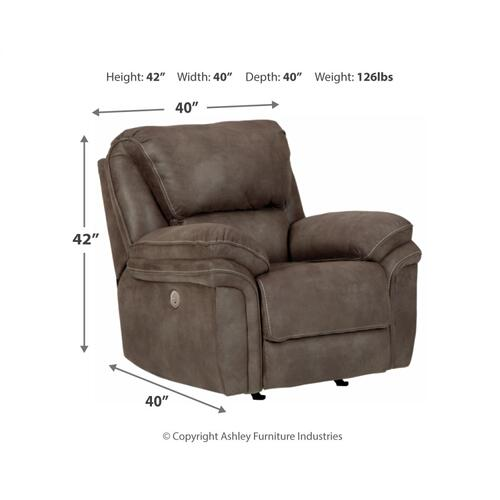 Trementon Power Rocker Recliner