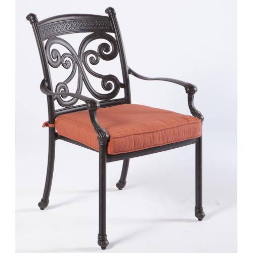 Farfalla Stackable Dining Arm Chair