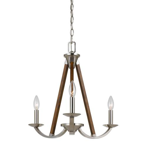60W X 3 Monica Metal Chandelier