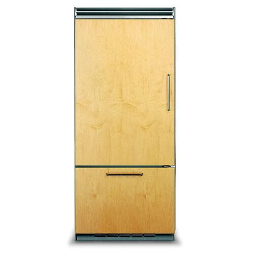 "36"" Custom Panel Bottom-Freezer Refrigerator - FDBB5363E Viking 5 Series"