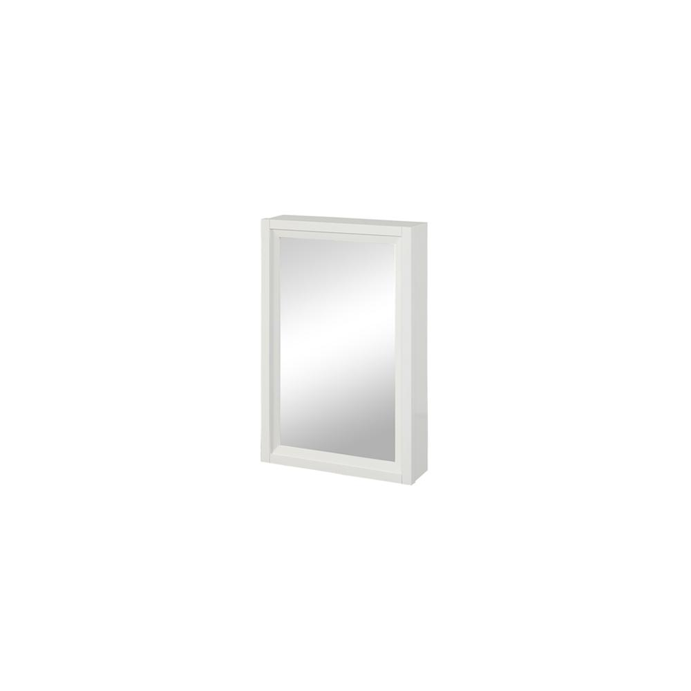 """Studio One 19"""" Medicine Cabinet - Glossy White"""