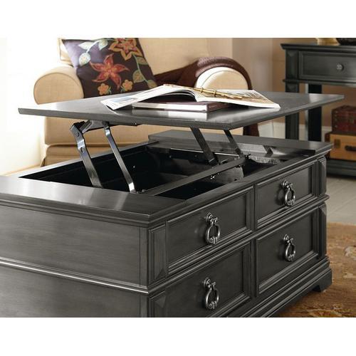 Garrison Coffee Table Lift Top, Grey