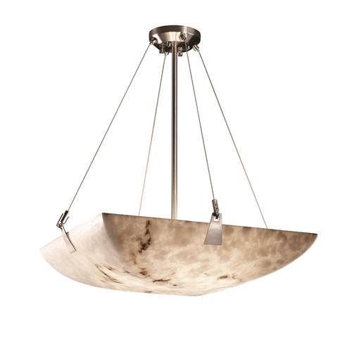 """24"""" Pendant Bowl w/ Tapered Clips"""