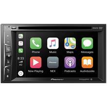 "6.2"" Double-DIN In-Dash NEX DVD Receiver with Bluetooth®, Apple CarPlay & SiriusXM® Ready"
