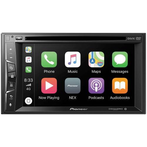 "Petra - 6.2"" Double-DIN In-Dash NEX DVD Receiver with Bluetooth®, Apple CarPlay & SiriusXM® Ready"
