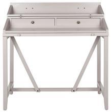 See Details - Wyatt Writing Desk W / Pull Out - Quartz Grey
