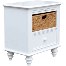 See Details - St. Croix Basket Drawer Nightstand