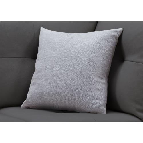"""Gallery - PILLOW - 18""""X 18"""" / PATTERNED LIGHT GREY / 1PC"""