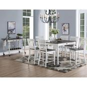 Joanna 7 Piece Counter Set(Counter Table & 6 Counter Chairs)