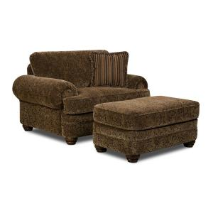 Simmons Upholstery - Tufted Cocktail Ottoman