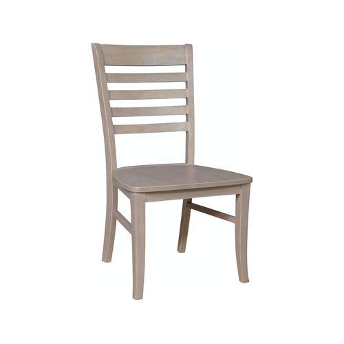 Roma Chair in Taupe Gray