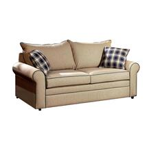 Craftmaster Living Room Two Cushion Queen Sleeper Sofa