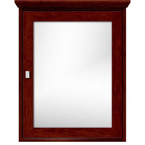 Contemporary single view medicine cabinet