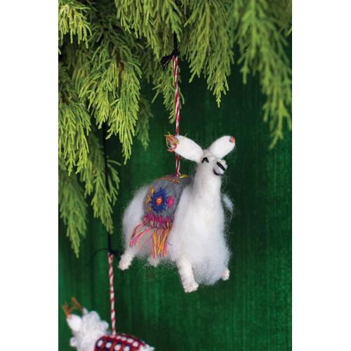 "4.5""x 2.25""x 4.25"" Farm Friends Ornament (Llama Option)"