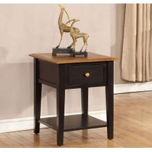 Quinton End Table W/ Usb Outlet