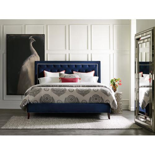 Bedroom Nest Theory Jay 62in King Upholstered Bed