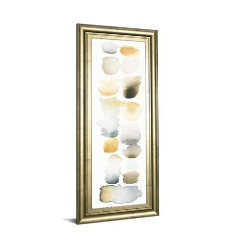 """Classy Art - """"Watercolor Swatch Panel Il"""" By Elyse De Neige Framed Print Wall Art"""