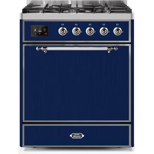 "30"" Inch Blue Liquid Propane Freestanding Range"