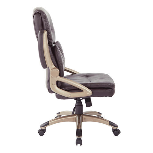 Office Star - High Back Leather Executive Manager's Chair